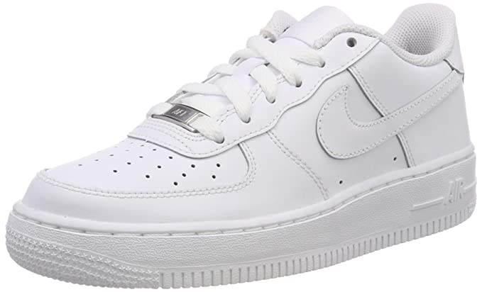 wholesale dealer 08fb7 d3f2c Nike Air Force 1 (GS) Big Kids Sneakers White White 314192-117