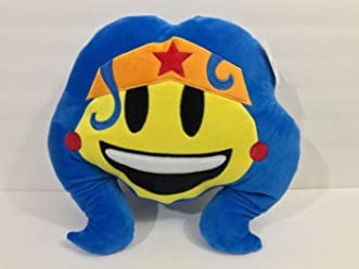Six Flags Magic Mountain DC Comics Emoji Wonder Woman Big Pillow Plush