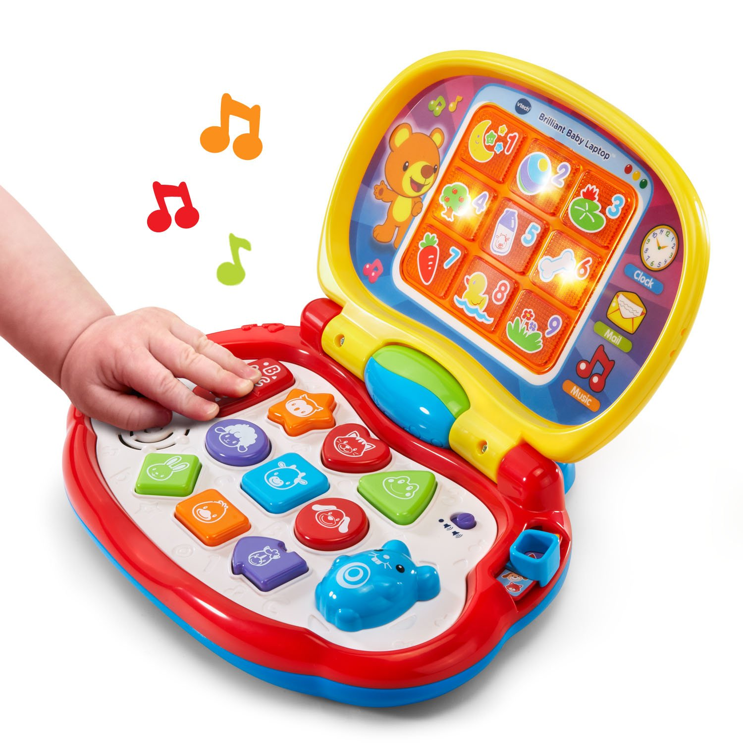 VTech Brilliant Baby Laptop,red by VTech (Image #3)