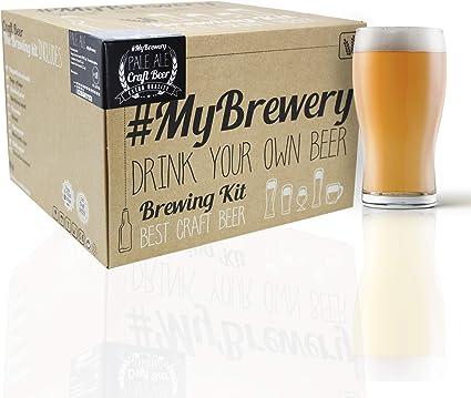 #Cervezanía Kit para hacer cerveza artesanal estilo palas ale. 5 litros. Malto molido y lúpulo fresco.