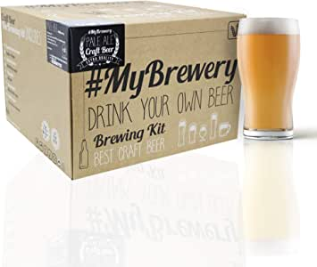Cervezanía Kit para hacer cerveza artesanal. Estilo Pale Ale. 5 litros. Malto molido y lúpulo fresco.: Amazon.es: Hogar