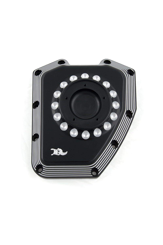 Ken's factory (ケンズファクトリー) Neo-Fusion Cam Cover Black & Machine Cut (ネオ フュージョン カム カバー ブラック アンド マシーン カット) For TC8-003   B01A81SFRK
