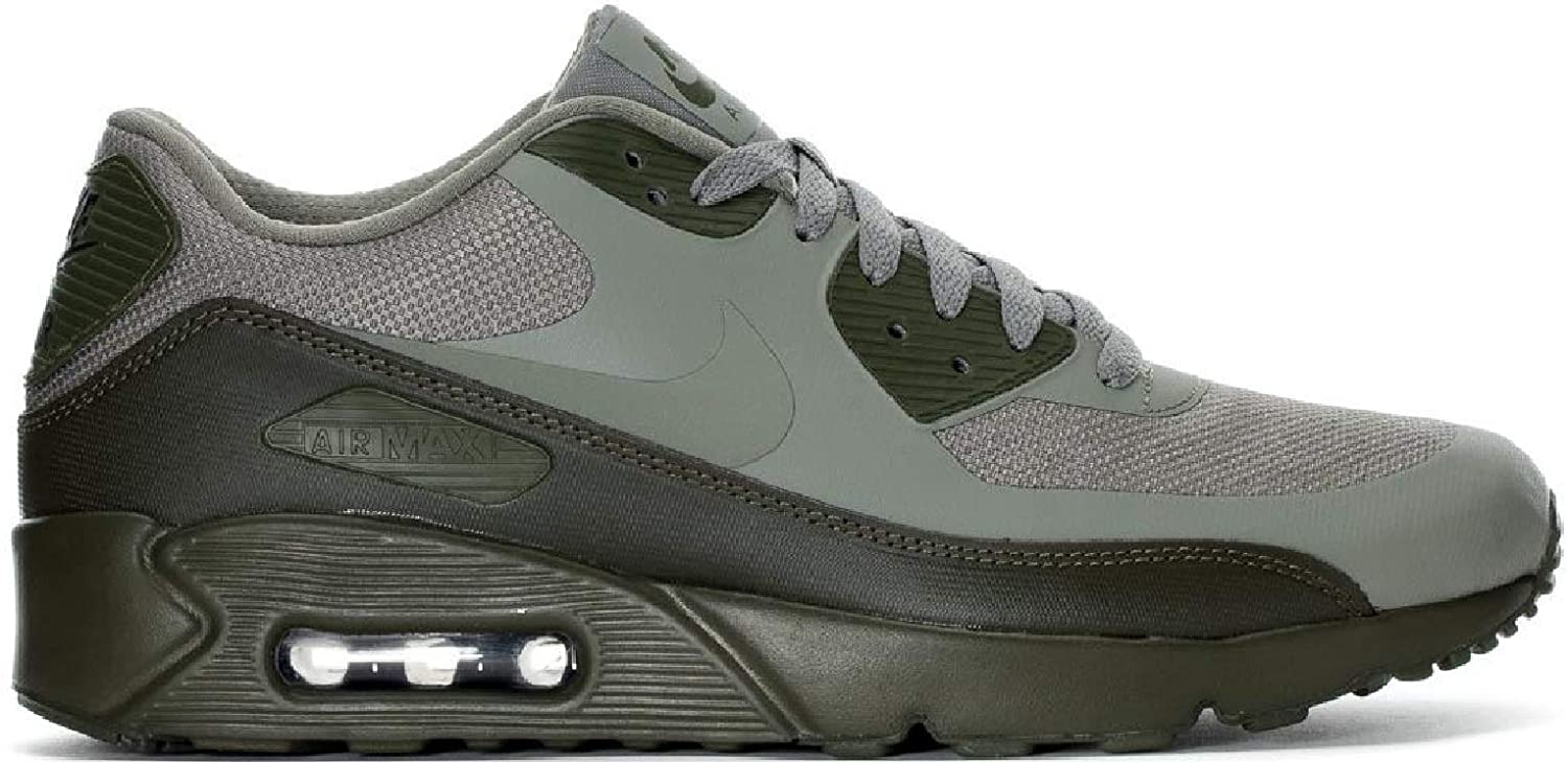 hot sale online 73850 fa8f4 Amazon.com  NIKE Air Max 90 Ultra 2.0 Essential Mens Running Trainers  875695 Sneakers Shoes (UK 10 US 11 EU 45, Dark Stucco 013)  Road Running