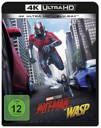 Ant-Man and the Wasp 4K Ultra HD + Blu-ray 2D Alemania Blu-ray: Amazon.es: Rudd, Paul, Douglas, Michael, Lilly, Evangeline, Pfeiffer, Michelle, Fishburne, Laurence, Pena, Michael, Greer, Judy, Goggins, Walton, John-Kamen, Hannah, Reed,