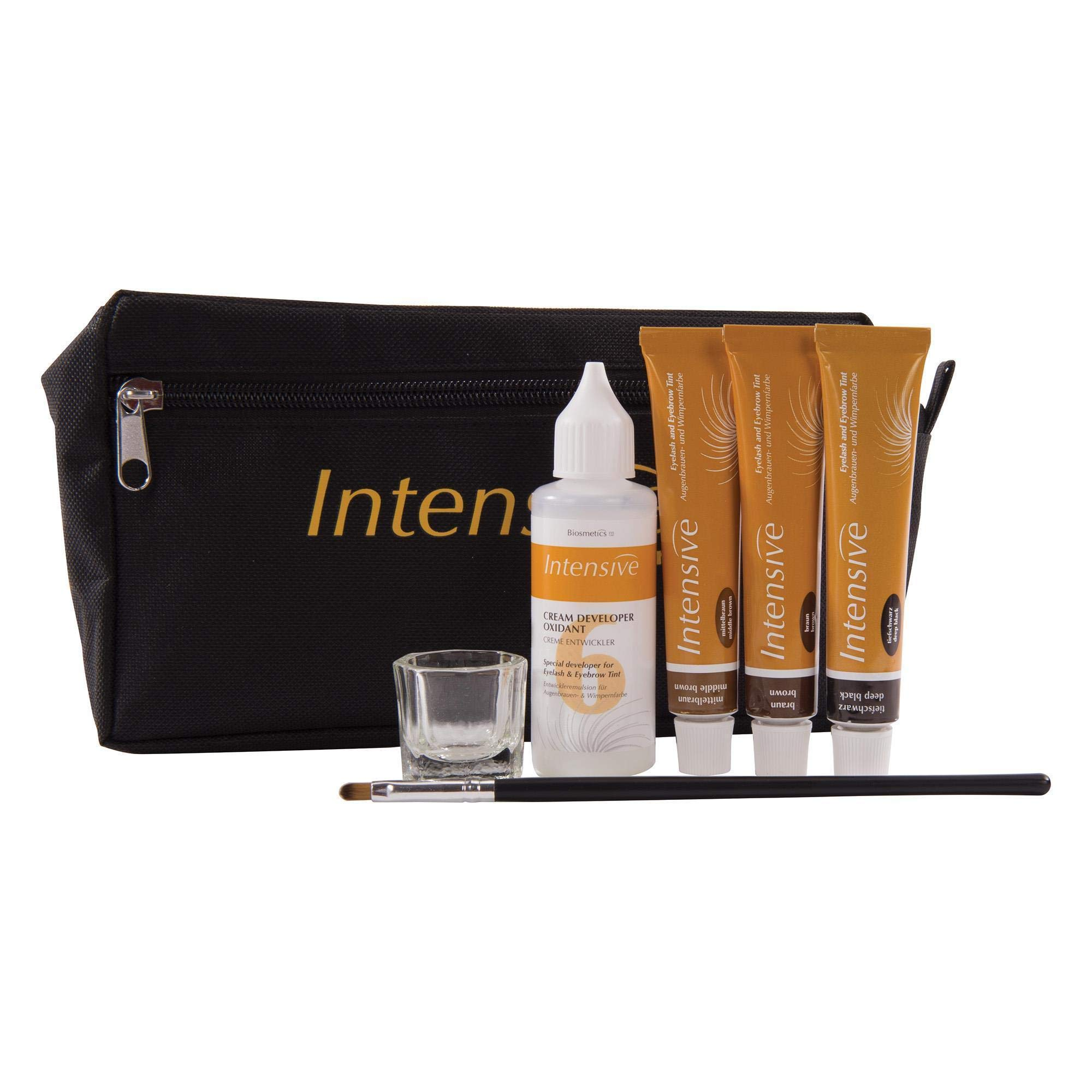 Intensive Lash & Brow Tinting Starter Kit | Trusted Professional Formula | Provides 90 Services by Intensive