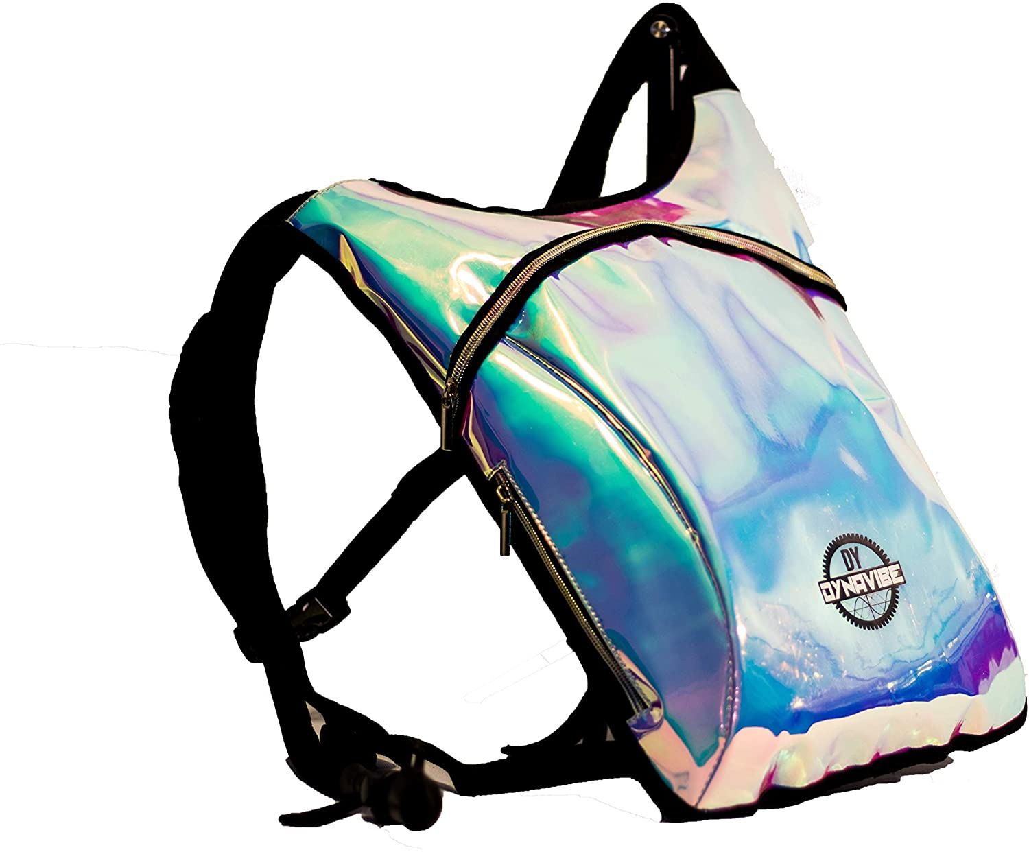 Hydration Pack Backpack – 2L Water Bladder Included for Festivals, Raves, Hiking, Biking, Climbing, Running and More
