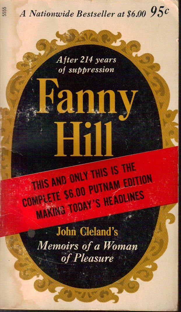 Memoirs of a Woman of Pleasure [Fanny Hill] [Putnam 5555-1st Paperback Edition], Cleland, John