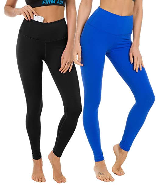 d343a61ef69288 FIRM ABS 2 Pack Women High Waist Slimming Leggings Fashion Pants Workout