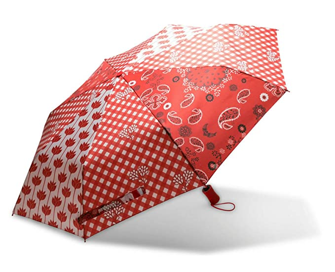 Desigual Dolly Micro Umbrella Carmin
