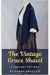 The Vintage Grace Shawl Crochet Pattern Kindle Edition