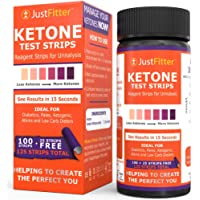 Ketone Keto Urine Test Strips. Lose Weight, Look and Feel Fabulous on a Low Carb Ketogenic Diet. Get Your Body Back! Accurately Measure Your Fat Burning Ketosis Levels in 15 Seconds. 125 Strips.