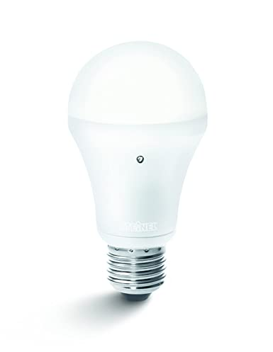 Steinel Lampadina con Sensore Crepuscolare Integrato Sensorlight LED E27, 8.5 W, Paquete Individual