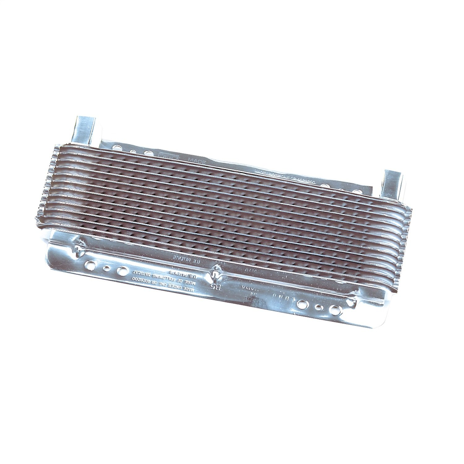 B&M 70265 SuperCooler Automatic Transmission Cooler With Polished Finish