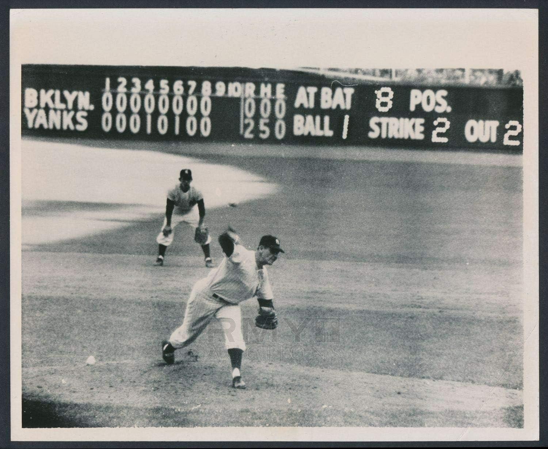 bucraft Don Larsen New York Yankees 1956 8x10 Photo Print