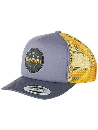 97646890 RIP CURL Men's Labelled Trucker Cap Kappe, Men, CCADG4, flint gray, One