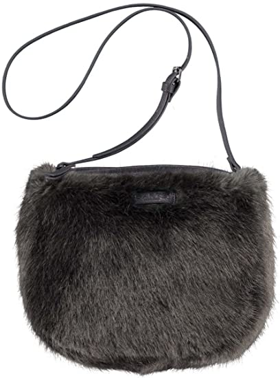 eb780b0f11 Barts Faux Fur Bag Grey 25x25 cm Grey - One Size  Amazon.co.uk  Clothing