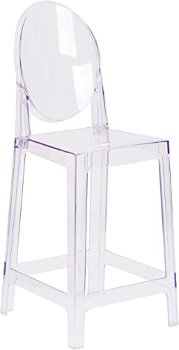 Flash Furniture Ghost Counter Stool
