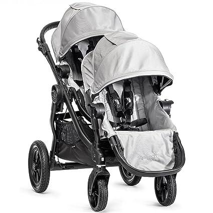 Baby Jogger City Select carrito con 2 nd asiento, Plata: Amazon.es: Bebé