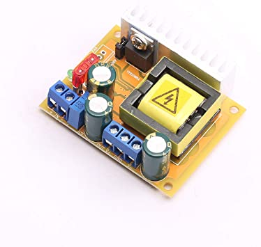 DC-DC 8~32V to 45~390V High Voltage Boost Converter Step-up ZVS Booster Mod W1E8