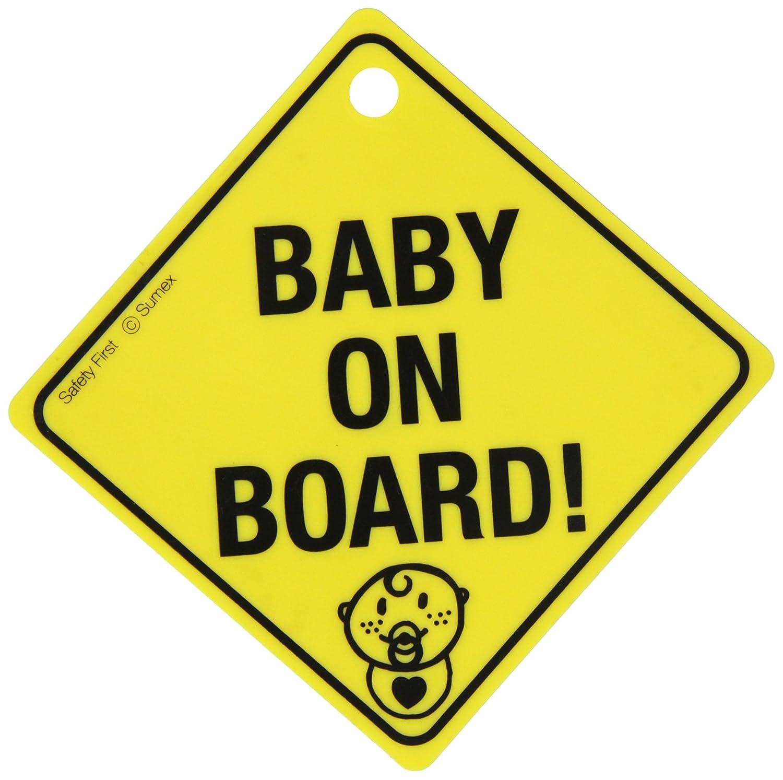 Sumex BABYUUK Etikette Baby on Board