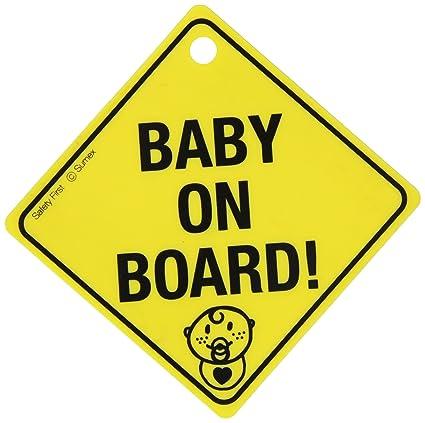SUMEX BABYUUK - Señal de bebé a Bordo (en inglés)