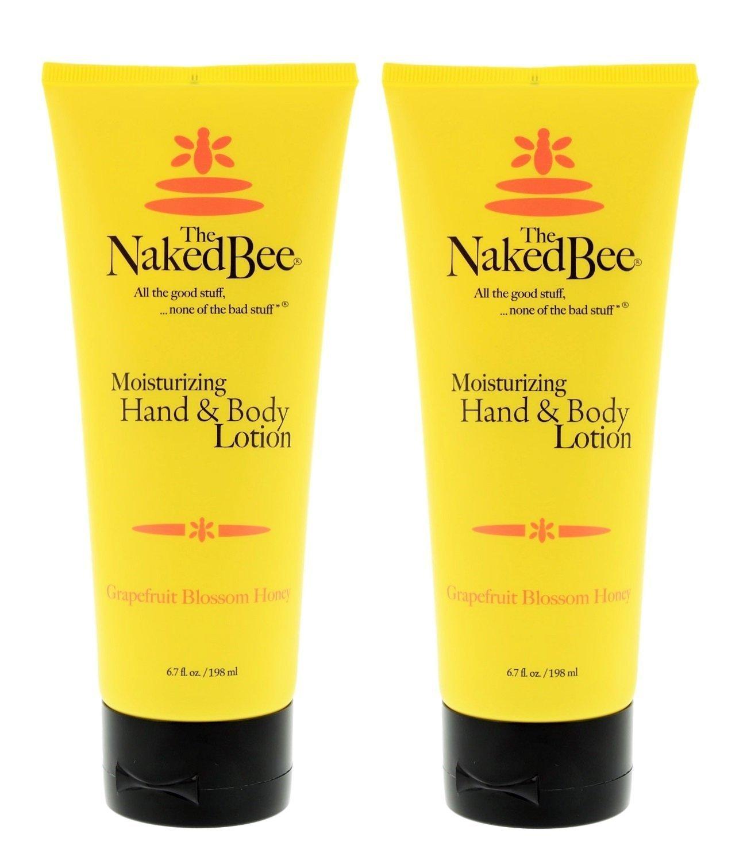 The Naked Bee Hand & Body Lotion Grapefruit Blossom Honey