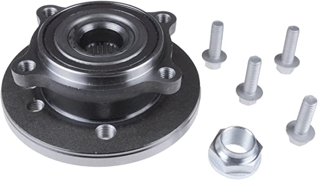Blue Print ADB118201 Wheel Bearing Kit with wheel hub and ABS sensor ring pack of one