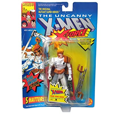 Toy Biz Marvel X-Men: X-Force Shatterstar Action Figure 4.75 Inches: Toys & Games