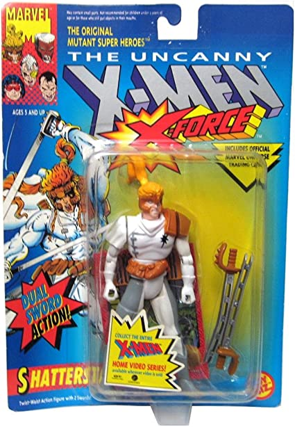 The Uncanny X-Men X-Force Shatterstar Figure Toy Biz Marvel 1992