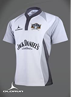 Phuket Pirates Rugby Shirt sponsored by Jack Daniels White S-XXXXL  2014 2015 ( 8438be28a1