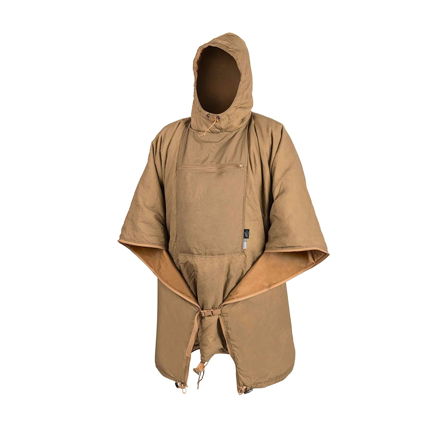 Helikon-Tex Swagman Roll Poncho Outdoor Survival Wobbie Jagd Coyote