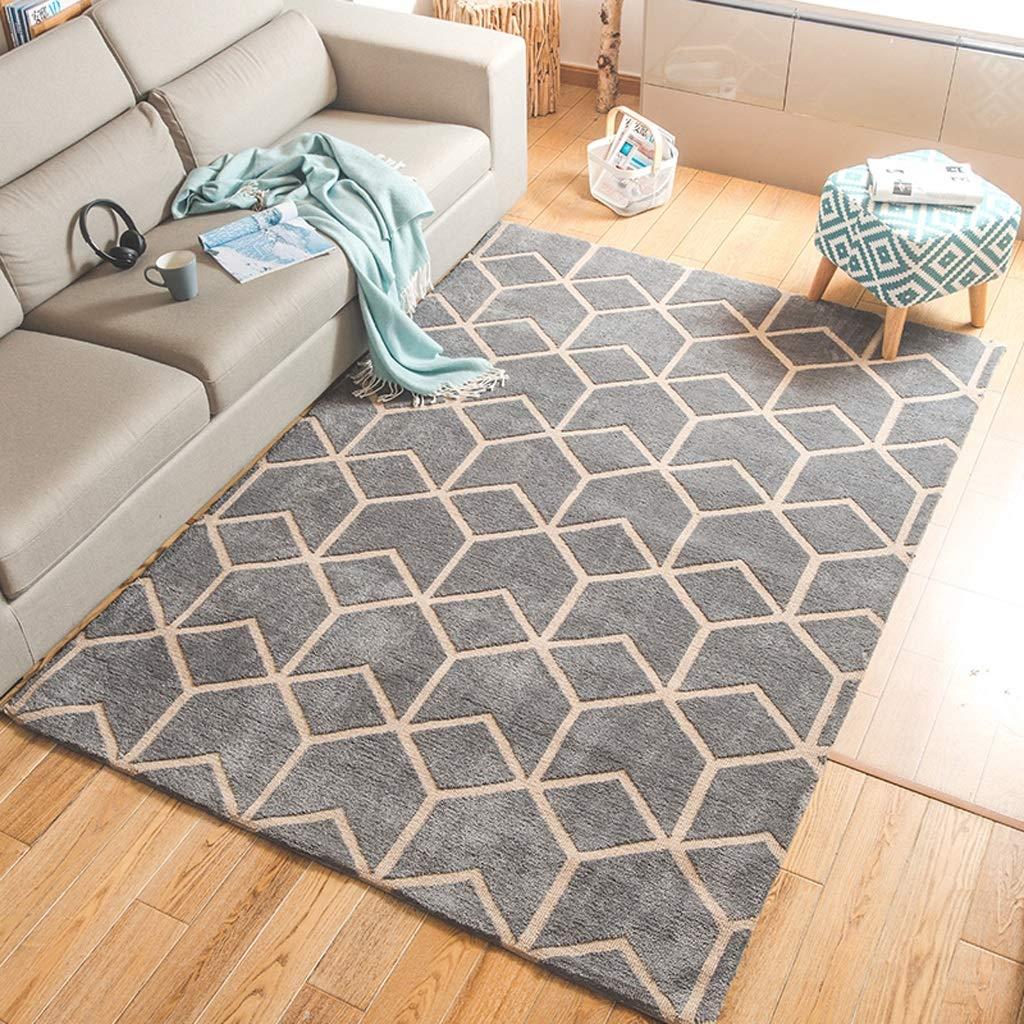 Amazon.com: Tapete de estilo nórdico para salón, sofá, mesa ...