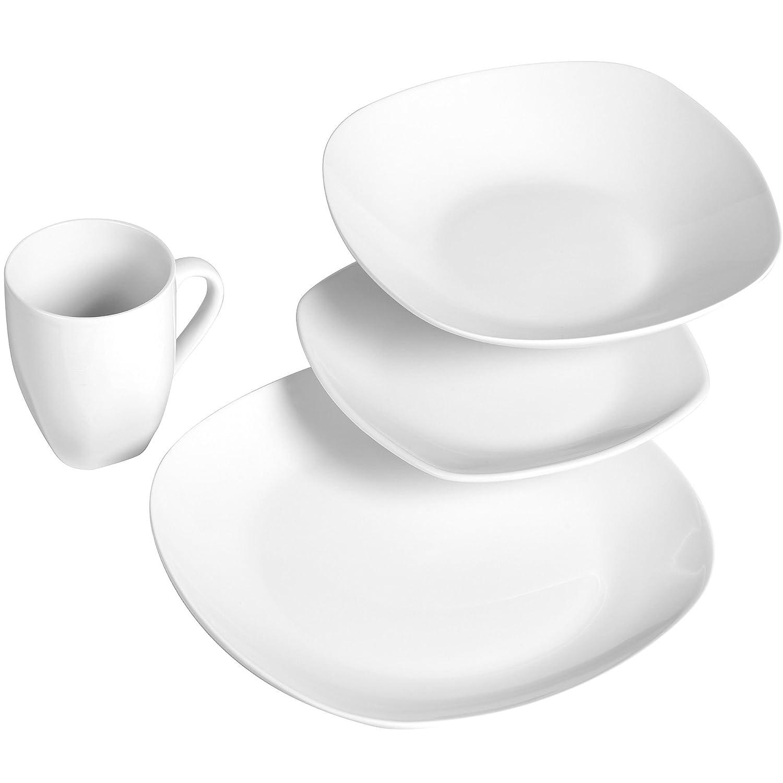 Amazon.com | Quinto 16 Piece Dinnerware Set: Gallery Tabletops ...