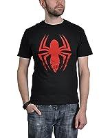 Spider-Man T-Shirt Logo The Amazing Spider-Man lizenziert schwarz