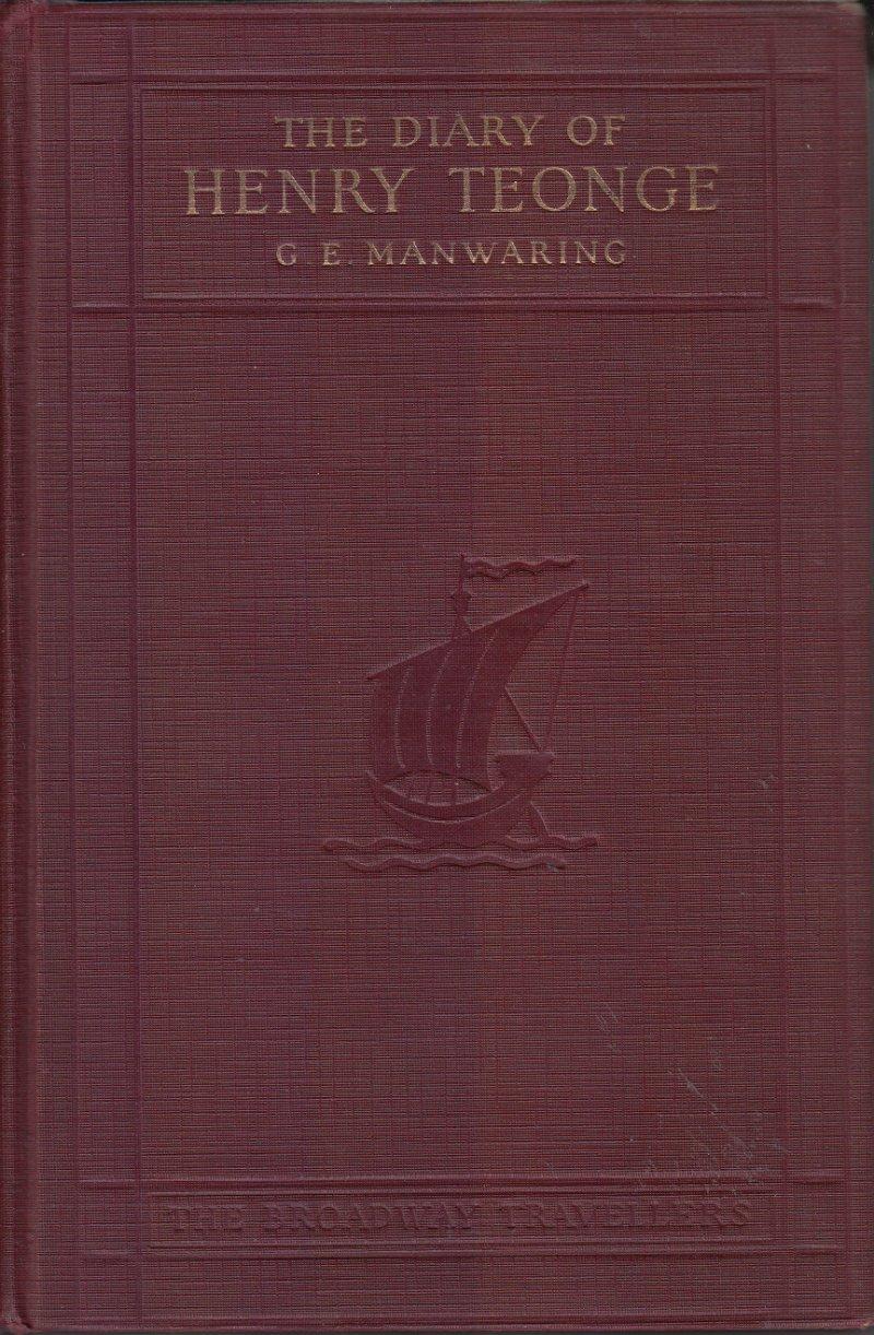 the diary of henry teonge manwaring g e