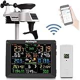 Sainlogic FT0300 WLAN väderstation, svart, 8 sensorer
