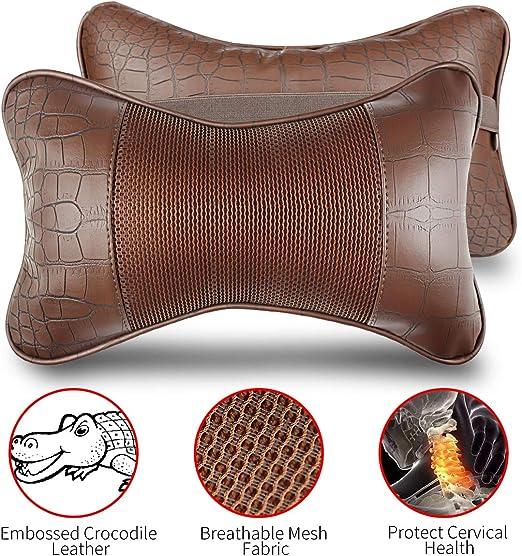 Inflatable Bath Pillow Comfy Head Rest Ripple Design Neck Cushion