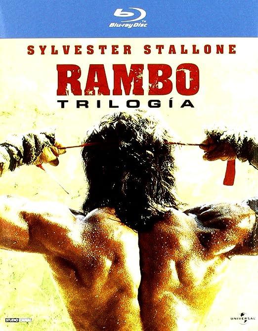 Rambo: The trilogy [Blu-ray]: Amazon.es: Varios: Cine y Series TV