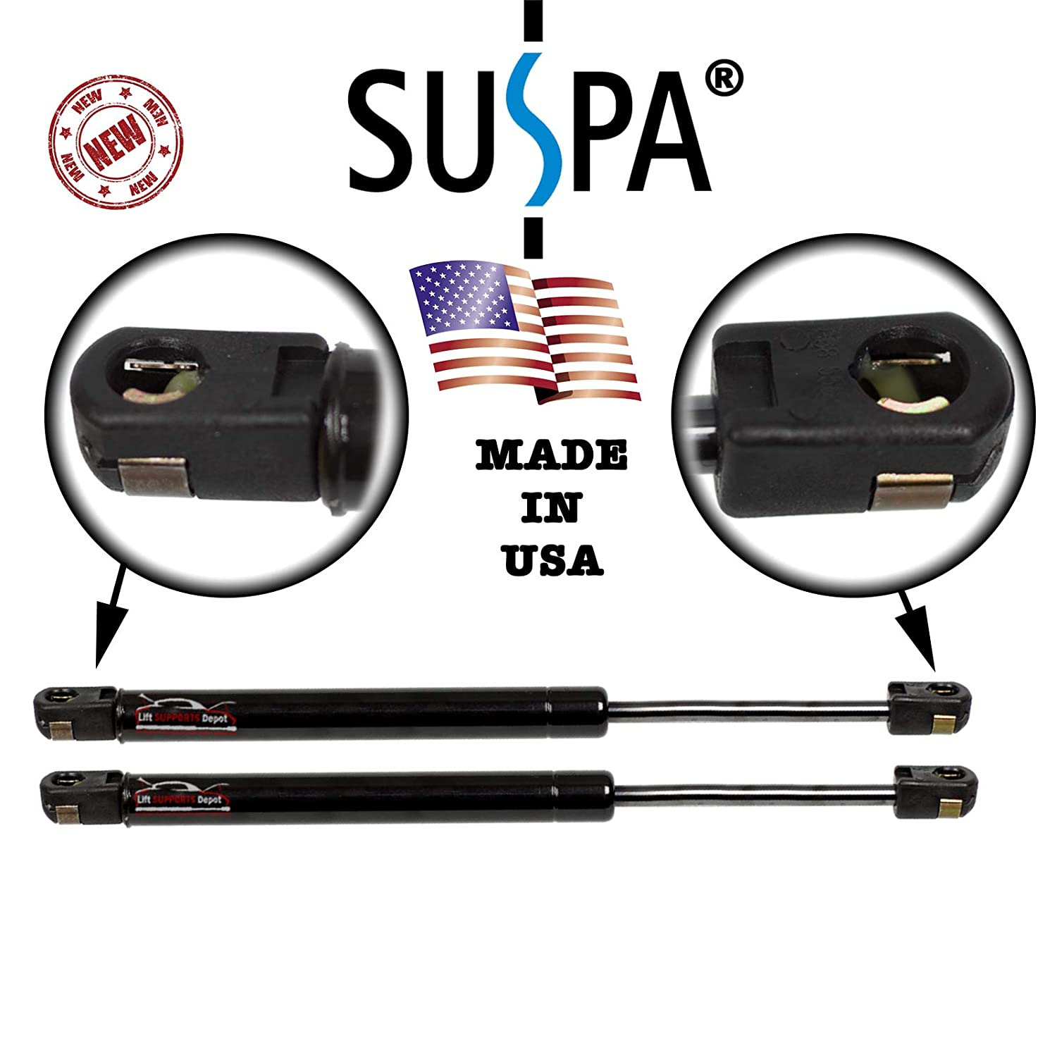 Genuine Suspa C16-14195 C1614195 Lift Supports Struts Shocks Cylinders Qty 2