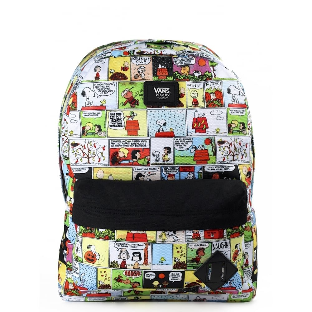 af8e7f71f2 Vans peanuts old skool ii comics backpack book bag ebay jpg 1001x1001 Vans  book bag