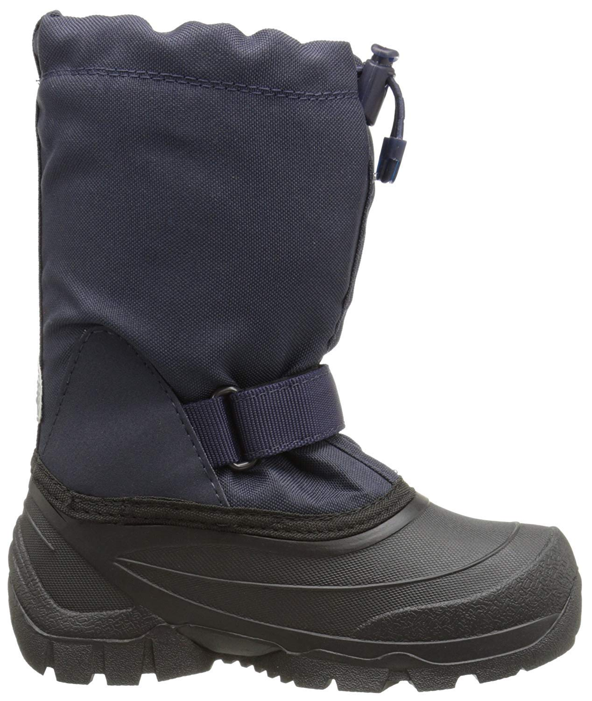 Kamik Snoday Insulated Winter Boot (Toddler/Little Kid/Big Kid), Dark Navy, 12 M US Little Kid by Kamik (Image #2)
