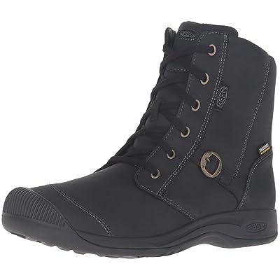 KEEN Women's Reisen Zip Waterproof FG Shoe, Black, 5 M US   Team Sports