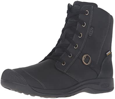 KEEN Women's Reisen Zip Waterproof FG Shoe, Black, ...