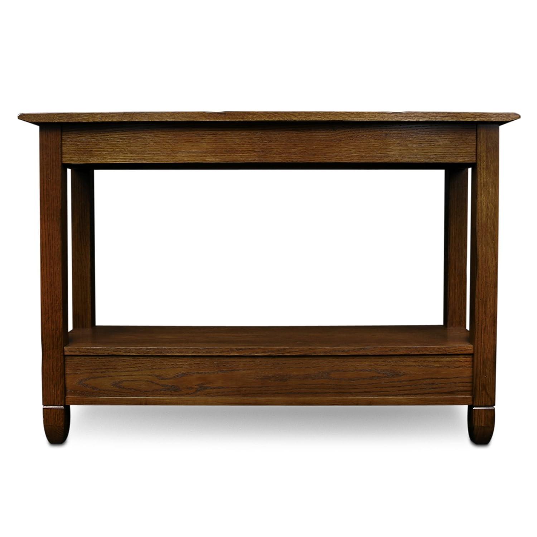 Amazon slatestone oak storage console table rustic oak amazon slatestone oak storage console table rustic oak finish kitchen dining geotapseo Choice Image