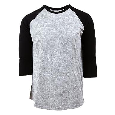 6fcf9b10 Casual 3/4 Sleeve Baseball T-Shirt Raglan Jersey Tee Men Women 10 ...