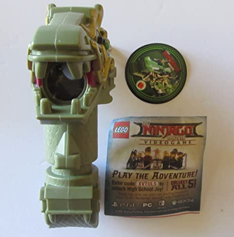 Amazon.com: McDonald\'s Lego Ninjago Movie Dragon Periscope #2: Toys ...