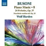 Busoni : Musique pour piano, vol. 8