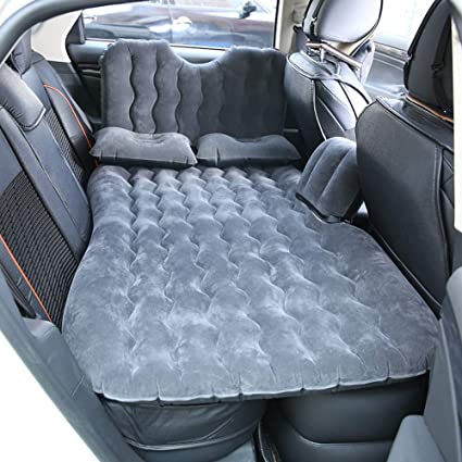 JR-Z Coche Inflable Cama Hinchable Camping Asiento Trasero ...