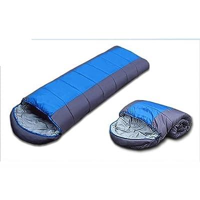 Élasticement Épaississant Sacs De Couchage En Coton Outdoor Camping Sacs De Couchage Pour Adultes,Blue
