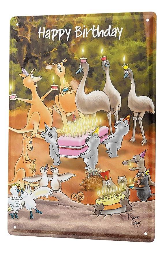 LEotiE SINCE 2004 Cartel Letrero de Chapa Cumpleaños ...